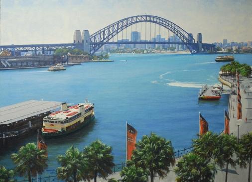 Circular Quay Sydney 84cm x 61cm