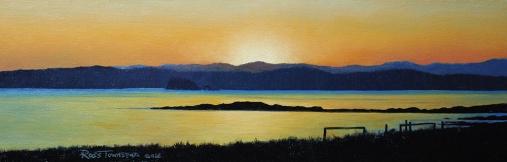 Sunset Batemans Bay 60cm x 20cm